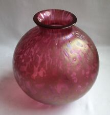 Vintage Stunning Royal Brierley Irridescent Art Glass Vase