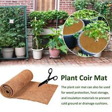 Hanging Basket Carpet Trough Manger Mat Coco Liner Roll Flower Flowerpot Planter