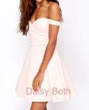 ASOS Patternless Short Sleeve Plus Size Dresses for Women