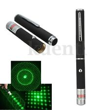Military 10000m 5MW 532NM Laser Pointer Pen Lazer Light Visible Beam Burn Green