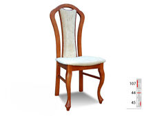 Solid Wood Chair Dining Designer Leather Room K16
