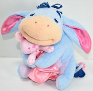 Fisher Price DISNEY WINNIE THE POOH BABY'S FIRST EEYORE Stuffed Plush LOVEY TOY