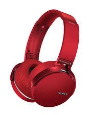 Sony MDR-XB950B1 Headband Wireless Headphones - Red - Brand New