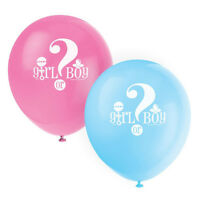 10X Girl Or Boy Balloons for Gender Reveal Party Supplies Baby Shower Decor TG