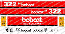 BOBCAT 322 MINI DIGGER DECAL SET