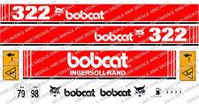 Bobcat 322 Mini Escavatore Yanmar Serie Decalco