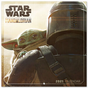 Star Wars The Mandalorian  (Free Poster) Official Calendar 2021