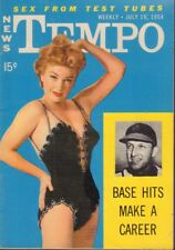 News Tempo Digest July 19 1954 Kathleen Hughes Cheesecake Pin Up 091218AME2