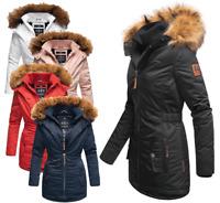 Marikoo  Damen Winter jacke Parka FVS4 Mantel Outdoorjacke sehr warm SANAKOO NEU