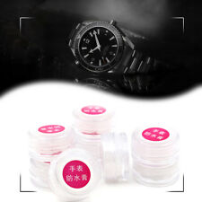 2pc Watch Waterproof Paste Glass Crystal Scratch Remover Restorer Polish Tool
