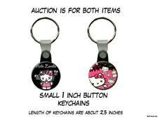 Hello Kitty Zombie Horde set of 2 Key Chains