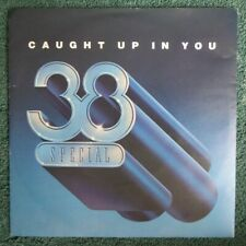 "38 Special ""Caught Up In You"" 1982 Original 7"" vinyl single in PS AMS 8228"