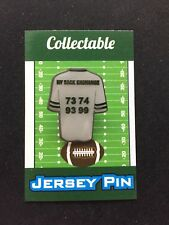 New York Jets jersey lapel pin-#1 Cool Retro Collectible-SACK EXCHANGE