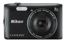 Nikon Coolpix A300 20.1 MP Digital Camera - Black