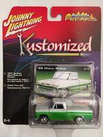 Johnny Lightning Street Freaks Kustomized 1965 '65 Chevy Pickup Die-cast 1/64