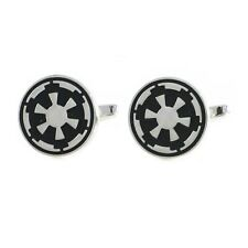 Star Wars Movie Symbol Galactic Empire Round Cuff Links