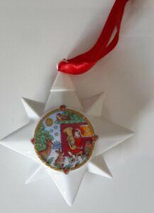 HUTSCHENREUTHER Porzellan Weihnachtsstern 2001