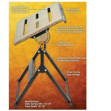 Steel Welding Table 5 Adjustable Angles Portable 350 lbs Retractable Edge Guides