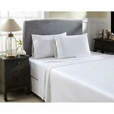 White Solid All Bedding Items Choose Sizes 1000 Thread Count Egyptian Cotton