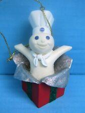 New Listing2001 Danbury Mint Pillsbury Doughboy Doughboy Surprise Christmas Ornament Fship!