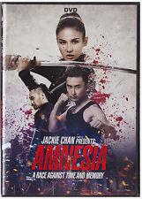 JACKIE CHAN PRESENTS AMNESIA (DVD, 2017)