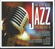 The Very Best Jazz Vocalists - 60 Original Jazz Classics (3CD 2015) NEW/SEALED