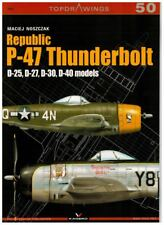 Republic P-47 Thunderbolt. D-25 D-27 D-30 D-40 Models + Mask Foil Kagero