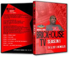 Brickhouse Brown TV Season 5 DVD, Wrestling WCCW USWA Bill Watts UWF mid-South