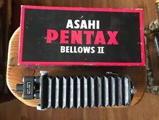 Asahi Pentax M42 Auto Bellows II Screw Mount Macro with Box