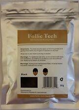 Black Hair Building Fibers 150 gr 6 oz Balding Refill Kit for bottle TOP QUALITY