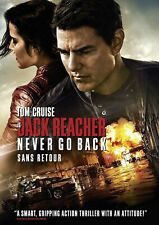 NEW DVD - Jack Reacher: Never Go Back - TOM CRUISE , COBY SMULDERS , DANIKA YARO