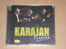 KARAJAN FOREVER - BEETHOVEN , STRAUSS, MOZART) - 2 CD SIGILLATO (SEALED)