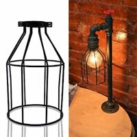Retro Wire Cage Metal Ceiling Hanging Lamp Shade Pendant Chandelier Light Lamps