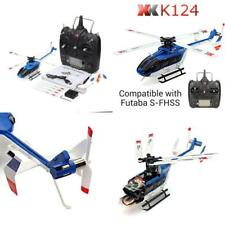 XK K124 6CH Brushless EC145 3D6G System RC Helicopter RTF Control Mode 2.4G
