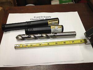 """Guhring 9006050178600, 45/64"""", 130°, Cobalt, Jobber Drill, Split Point, 5xD"""