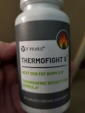 It Works ThermoFight X x 60 Capsules Next Gen Fat Burn 🔥NEW Improved FORMULA