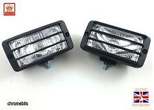 2X 12V  4X4 OFFROAD  BULL BAR ROOF FOG SPOT LIGHT LIGHTS LAMP  NEW E-MARKED
