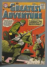 My Greatest Adventure 21 May 1958 VG/F Jack Kirby Jack Schiff Outer Space sci fi