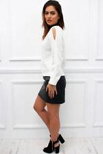Lange Damen-Pullover & -Strickware mit grober Strickart S