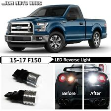 2x White High Power Reverse Backup 3157 3156 LED Lights Fits 2015-2017 Ford F150