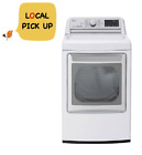 LG DLGX7881WE 7.3 cu.ft. Smart Wi-Fi Enabled Gas Dryer with TurboSteam - White photo