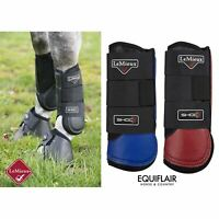 LeMieux ProSport Stealth Air Shoc Cross Country Boot - Hind
