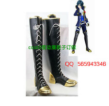 Vocaloid Project Diva F Kaito Cosplay Boots party Shoes S008
