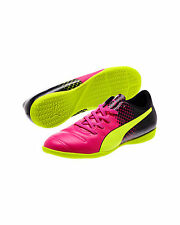 PUMA Girls evoPOWER 4.3 Tricks IT Junior Neon Sneakers Shoes Size 5.5C (37.5 EU)