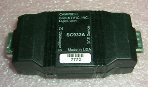CAMPBELL SCIENTIFIC INC SC932A RS-232 DCE Interface, CS I/O to 9-Pin