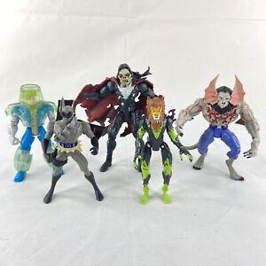 Marvel ToyBiz Vintage 1990s Action Figure Lot of 5 Moribus Trevor Fitzroy