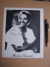 Maxine Daniels   Autograph ( GC6)