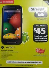 Motorola MOTO E - 4GB - Black (Straight Talk) Smartphone