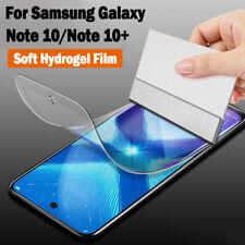 Hydrogel Screen Protector Anti-Scratch Soft Film For Samsung Galaxy Note 10 Plus