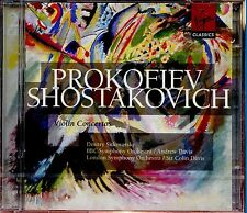 Prokofiev - Shostakovich / Violin Concertos - 2CD - New & Sealed